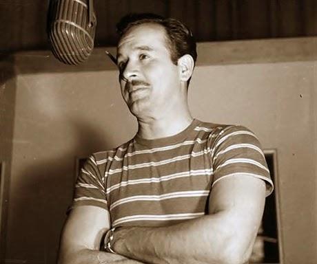 Pedro Infante grabando
