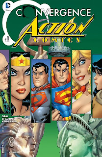 Cover of Convergence: Action Comics #1 from DC Comics