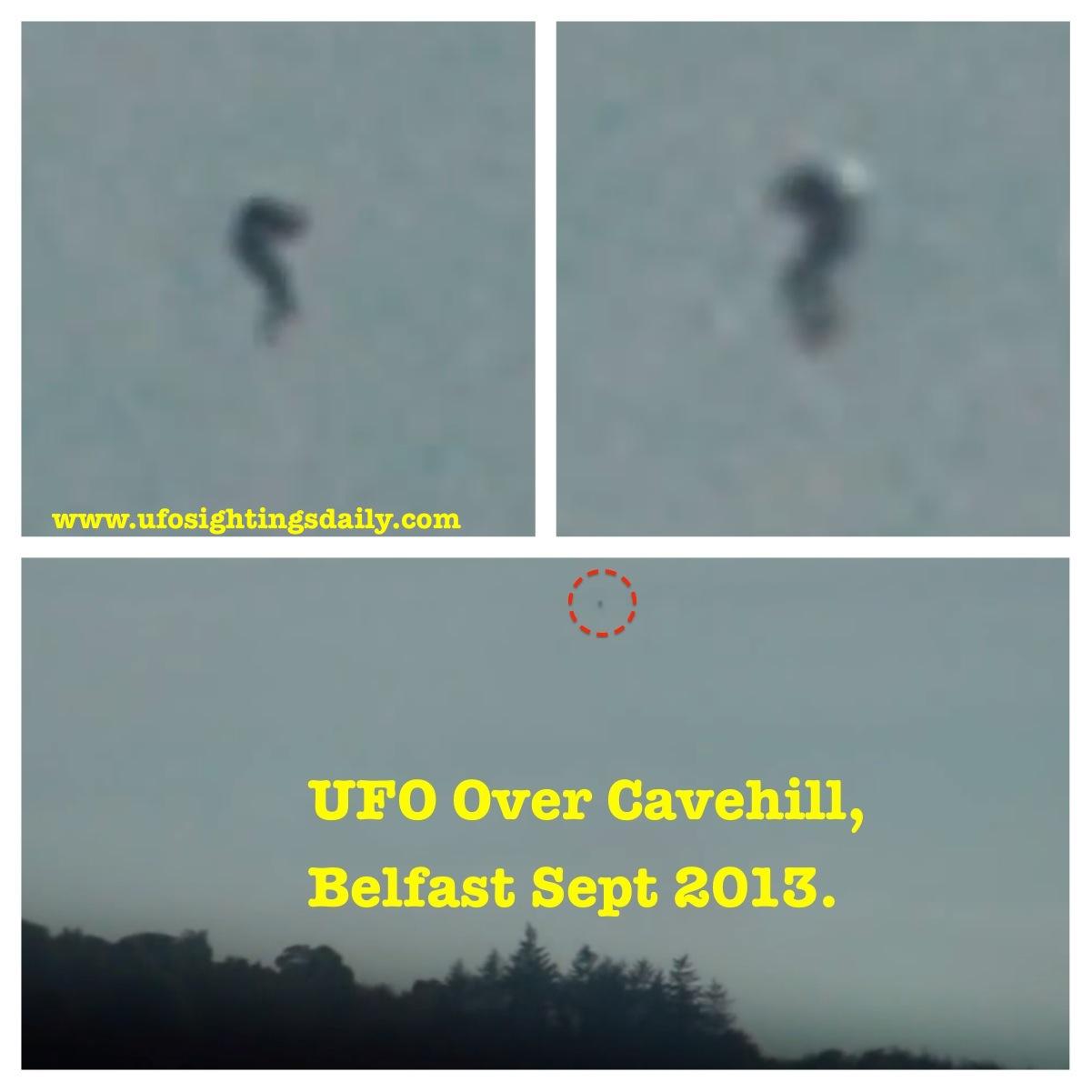 UFO SIGHTINGS DAILY: UFO Caught Over Belfast, Ireland On ... Ufo 2013