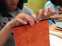 HanjiNaty Hanji Workshop with Korean students