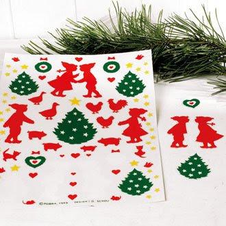 julestickers til vinduer