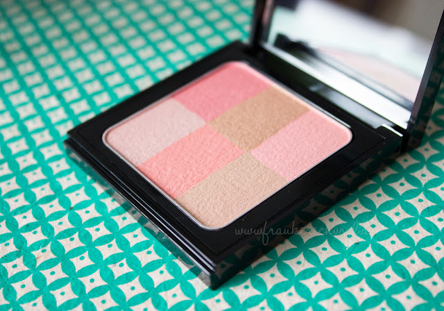 bobbi brown brightening brick coral blush review