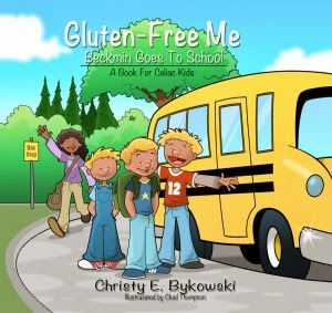 Gluten-Free Me: Beckmin Goes to School cover