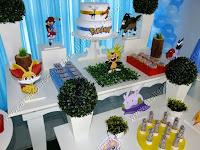 Decoração de festa infantil Pokémon Porto Alegre