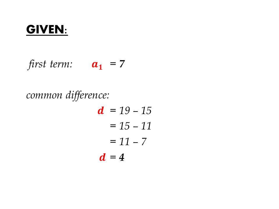 nth term gcse past paper questions