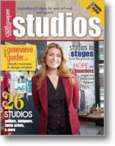 My studio is featured in the Fall, 2011 issue!