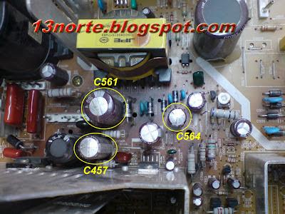 Componentes averiados en C29E7