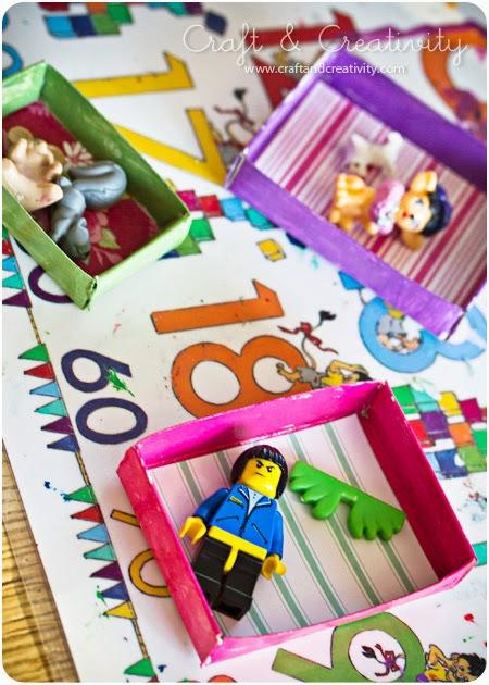 Reciclatex Cómo hacer cuadros en miniatura para decorar con los más pequeños de la casa