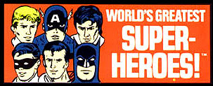 MEGO World's Greatest Super-Heroes Logo