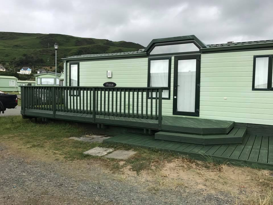 Caravan and domestic decking