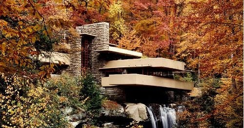 Blog de decora o arquitrecos frank lloyd wright 145 anos for Casa sulla cascata frank lloyd wright