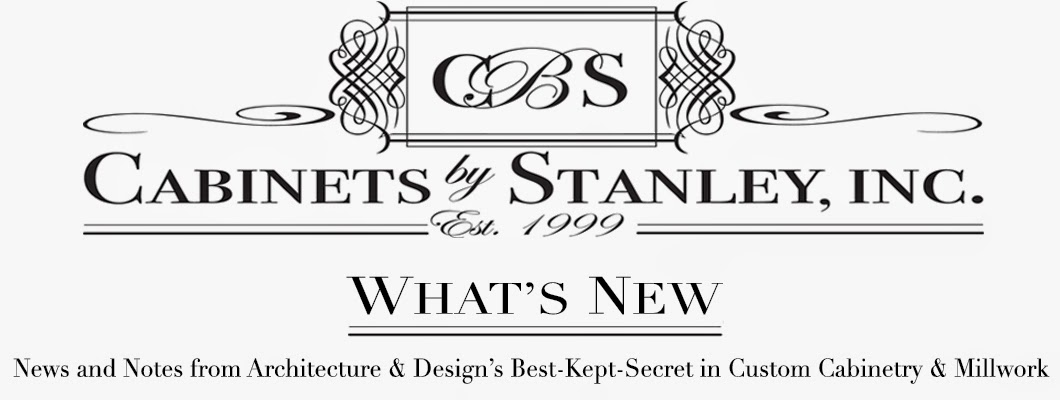 Cabinets By Stanley - Design Through Our Eyes - What's New