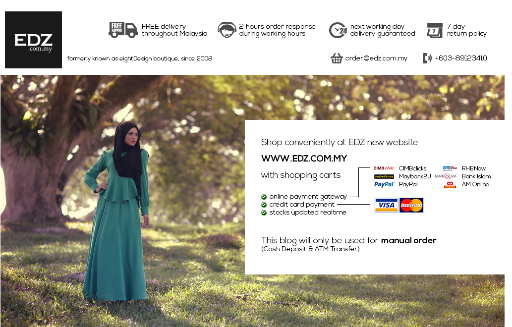 EDZ eightDesigns Malaysia's online shopping fashion blogspot | cardigan | shawl | tops | shoes