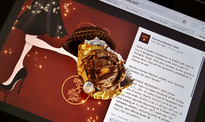 Ferrero Rocher 25 Days Wrapped In Gold
