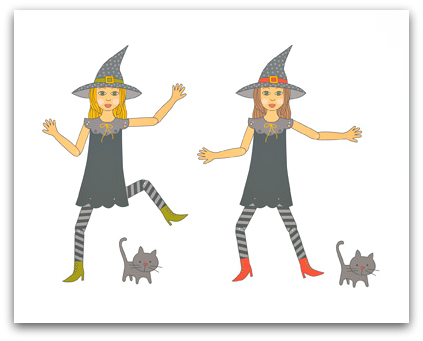 Stampin' Up! Any Witch Way Template - Digital Download