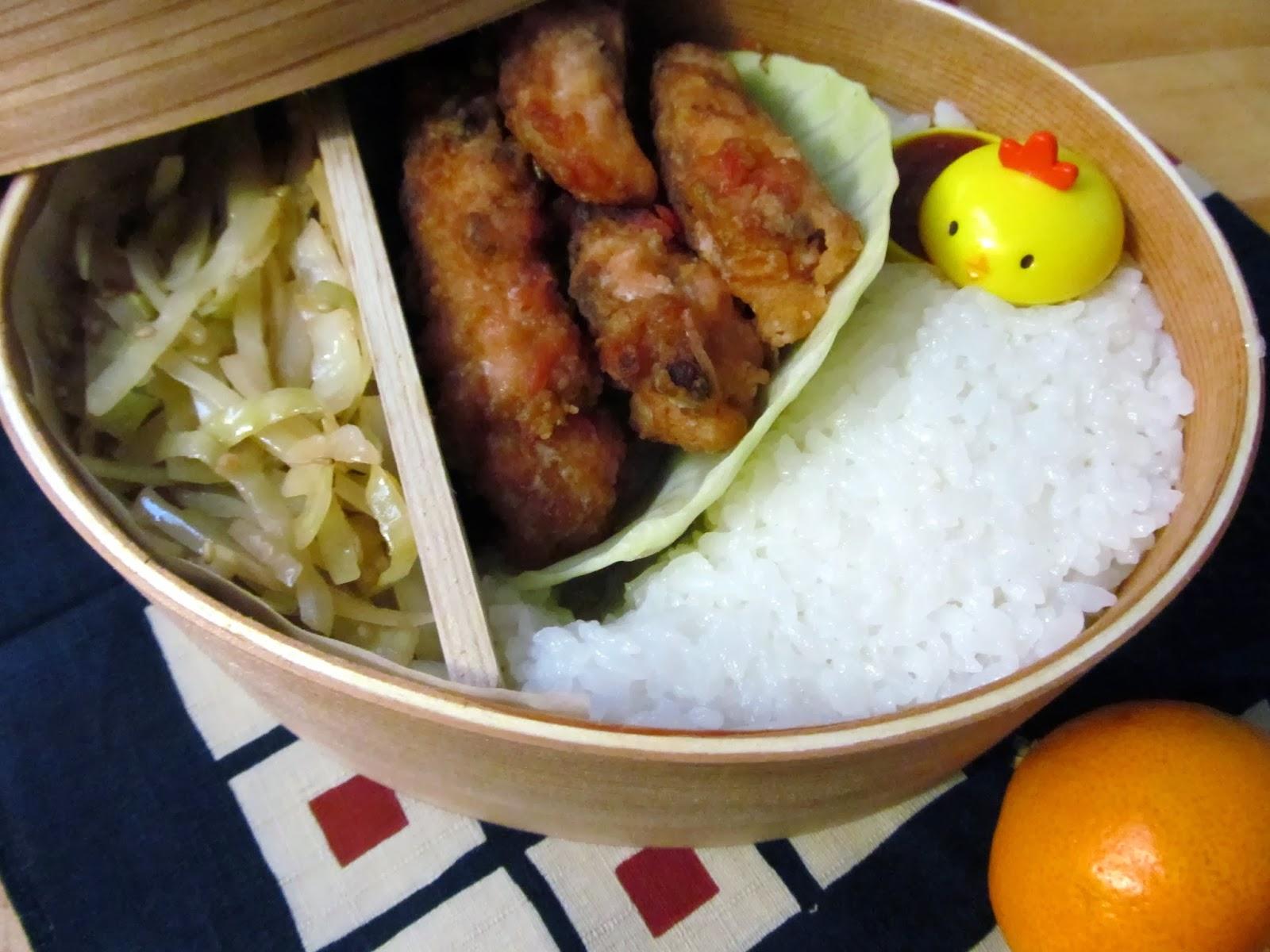 Adventures of a Whole Wheat Pastafarian: Bento: Chicken ...
