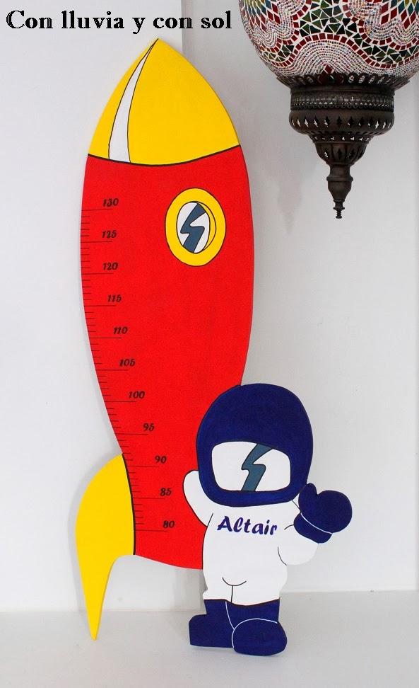 Con lluvia y con sol medidor infantil para altair - Medidor infantil madera ...