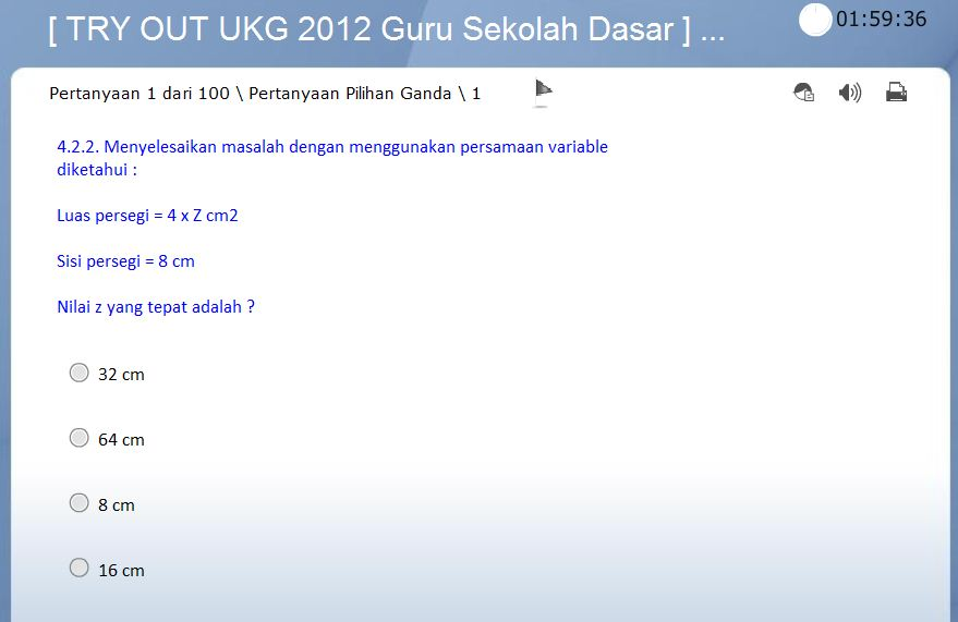 Soal Ukg Online 2012 Soal Uji Kompetensi Guru 2012 Prediksi Soal Uji Kompetensi Guru 2012 Guru