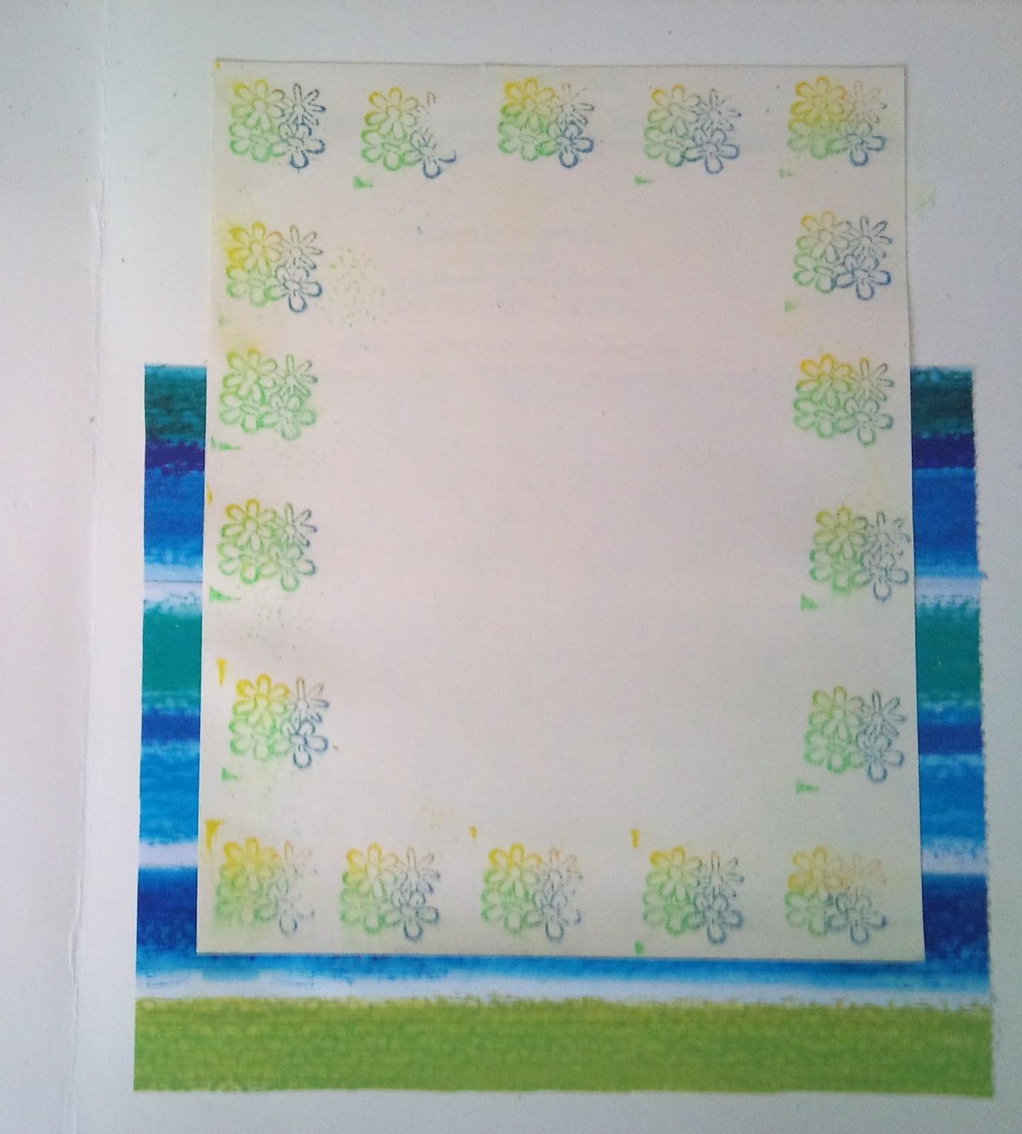 Dorcas y algo mas tag y tarjeta florales - Como adornar una cartulina ...