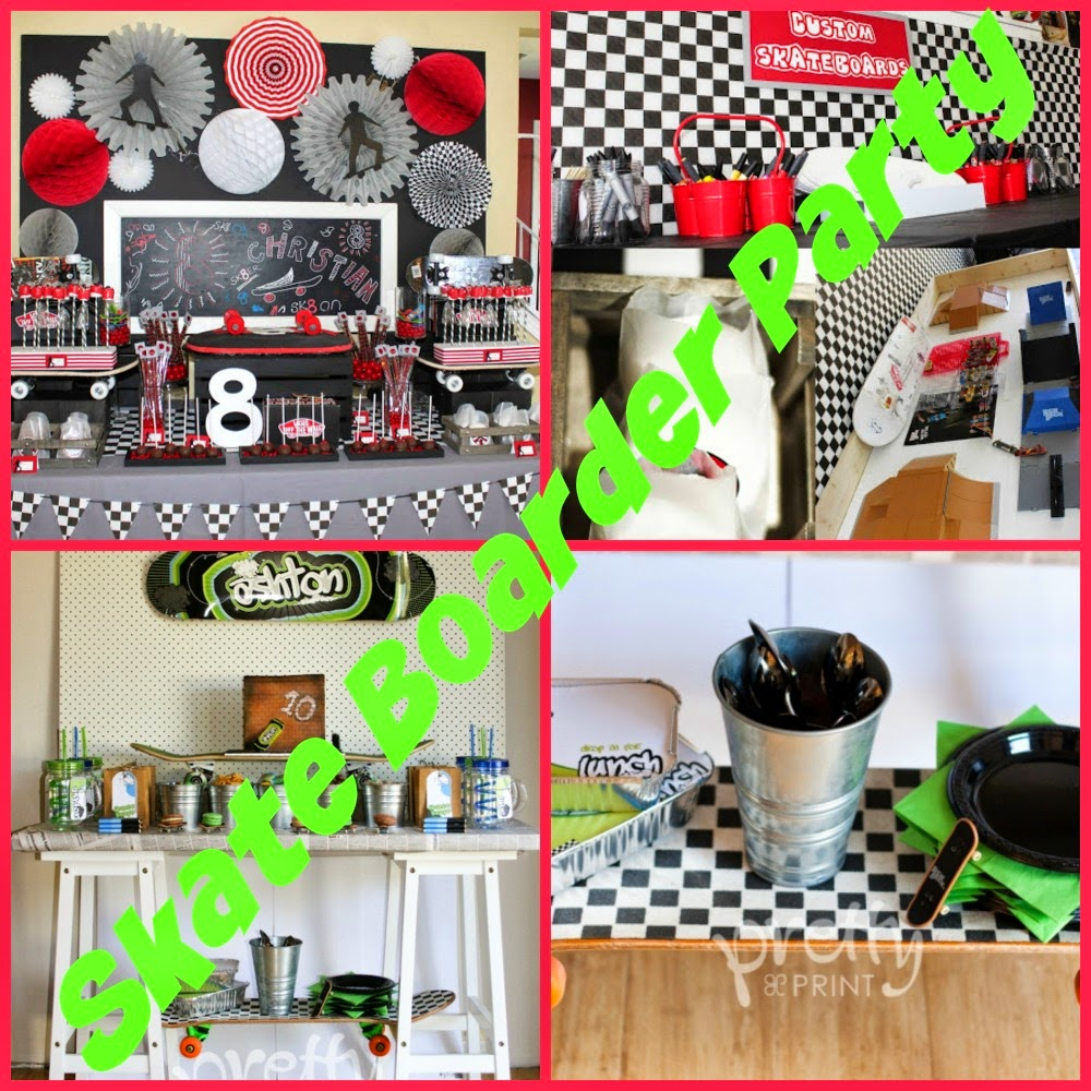 Party Themes for Teen & Tween Boys