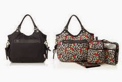 Clutch and Hobo Diaper Bags