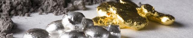 Odkup zlata in srebra v Elementumu.