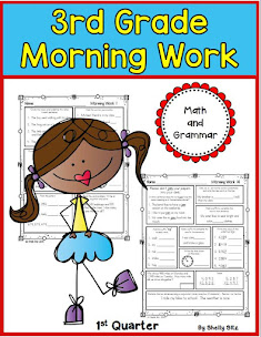 3rd Grade Morning Work