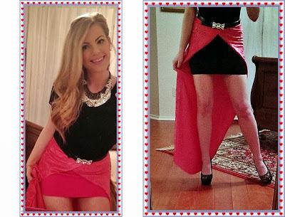 How to make a detachable skirt
