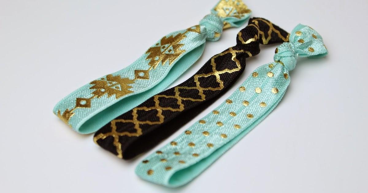 how to make elastic hair ties