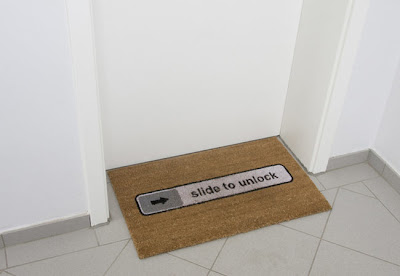 tapis slide glisse deverrouillage unlock apple iphone