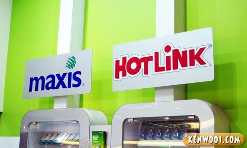maxis hotlink