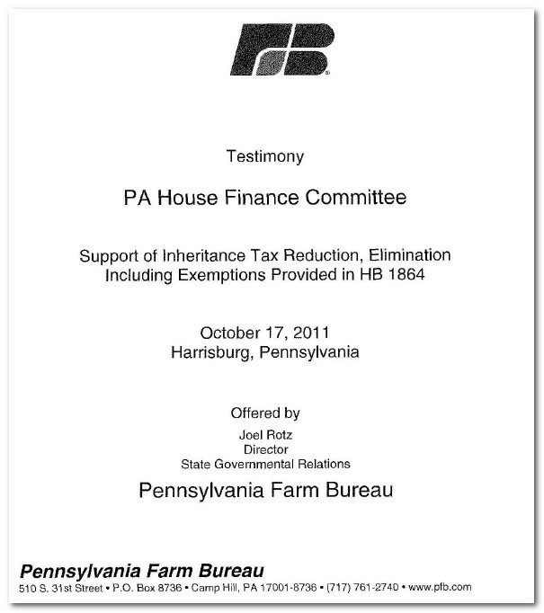 PA Elder, Estate & Fiduciary Law Blog: Family Farms Exempted from ...