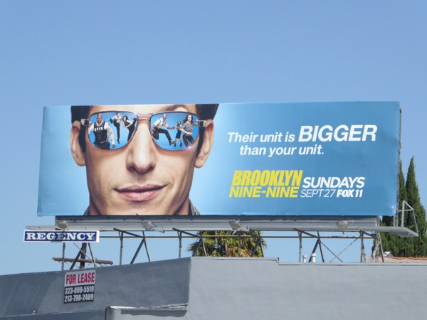 Brooklyn Nine-Nine season 3 billboard