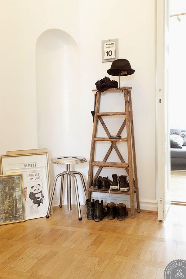 Ideas deco como tener tus zapatos en orden tr s studio - Hacer zapatero original ...
