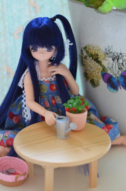 majokko miu strawberry dress