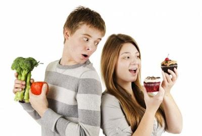 Alimentación en la adolescencia