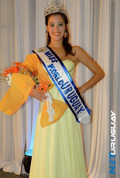 Miss World Mundo Uruguay 2012 winner Valentina Henderson