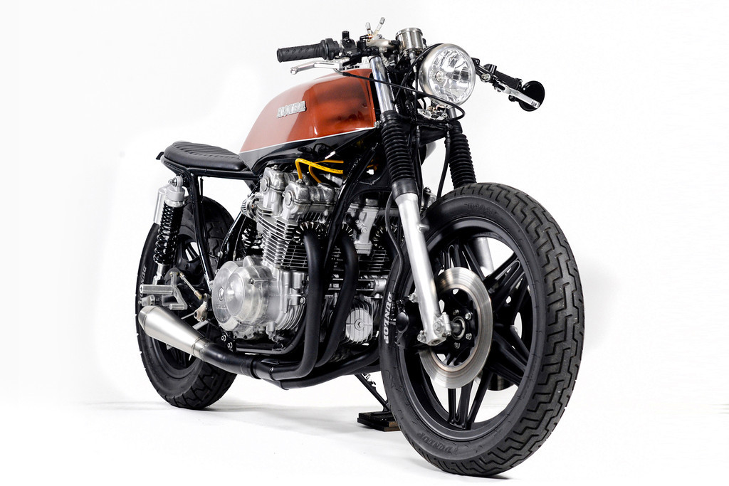 Racing Caf    Honda CB 750 The Brushed by Steel Bent Custom