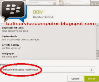 dimana download aplikasi bbm