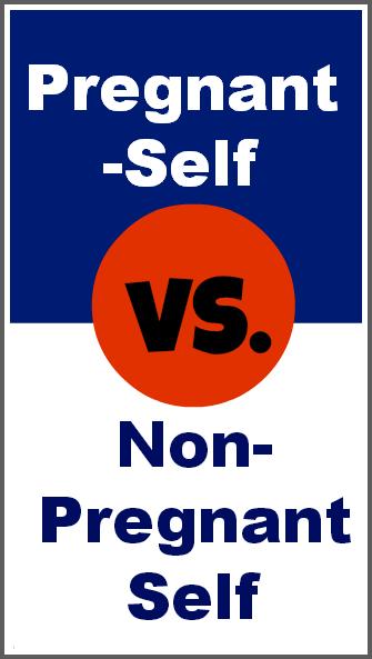 Pregnant Self vs. Non-Pregnant Self
