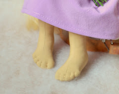 Небольшой МК по шитью ножки