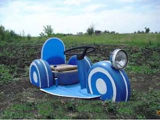 como hacer un coche de juguete grande, como hacer un coche con llantas viejas, como construir un coche usando llantas viejas, cómo hacer juguetes con reciclaje de llantas, reciclar llantas y hacer juguetes
