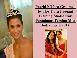Prachi Mishra Groomed by The Tiara Pageant Training Studio wins