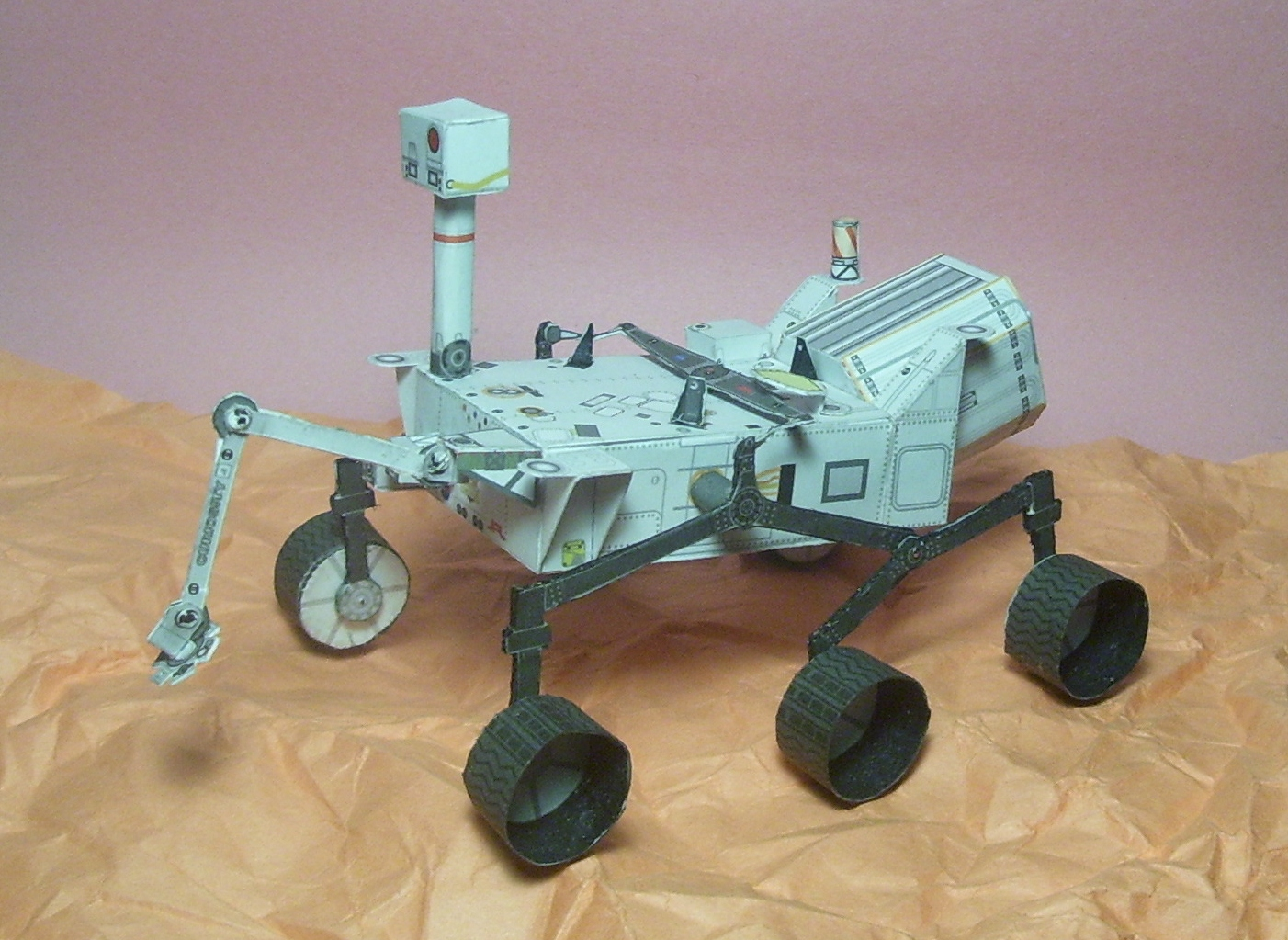 curiosity rover scale model - photo #3