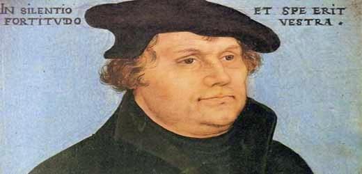 martin lutero maiale sassone protestantesimo