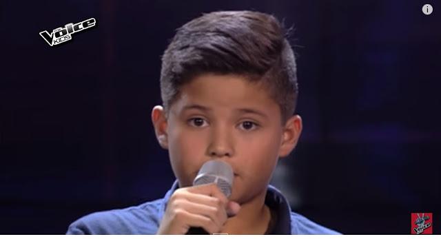 "Kyle Echarri performs ""Night Changes"" on The Voice Kids Season 2"