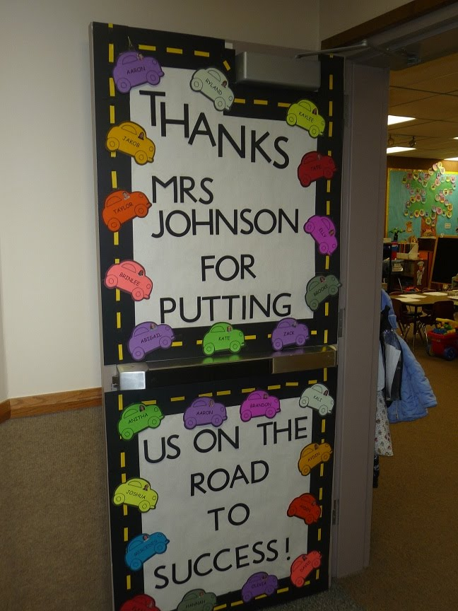 Teacher appreciation door decorating ideas southland for Back to school decoration ideas for teachers