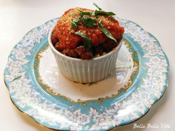 Italian Sausage & Cannellini Bean Ramekins recipe