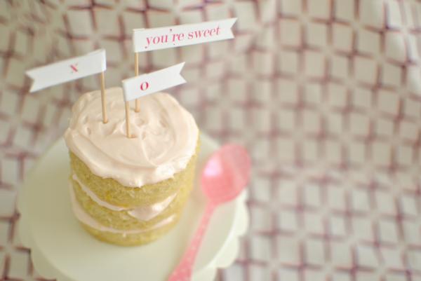 you're sweet cupcake