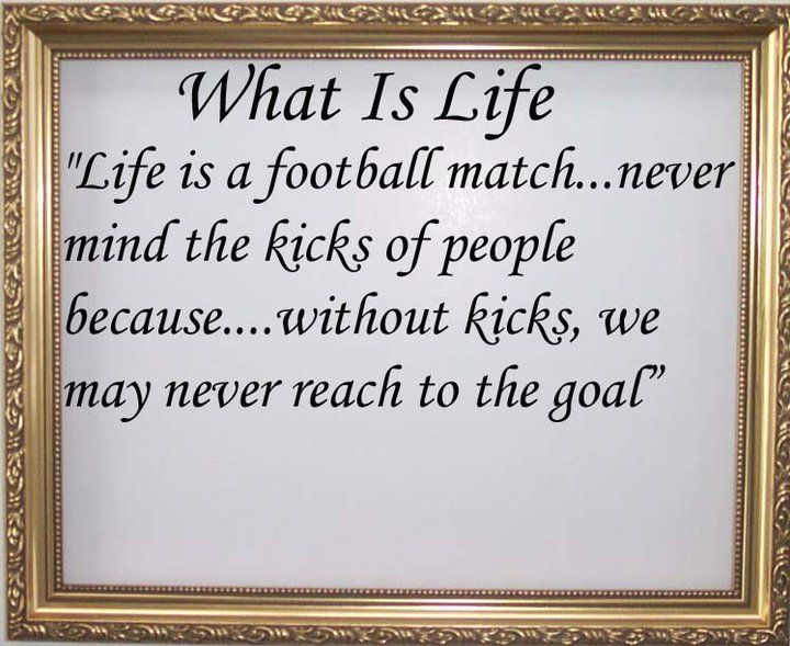 WHAT IS LIFE QUOTES
